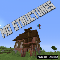 Mo' Structures - Generation, Adventure Mod 1.17, 1.16.4