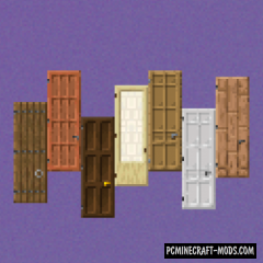 Dramatic Doors - Decor Mod Minecraft 1.16.1, 1.15.2, 1.14.4