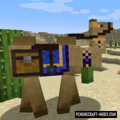 Camels - Creatures Mod For Minecraft 1.16.5, 1.16.4, 1.12.2