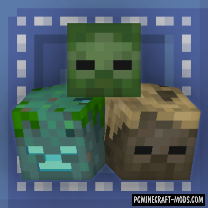 Just Another Head - Decor, New Blocks Mod For MC 1.16.5