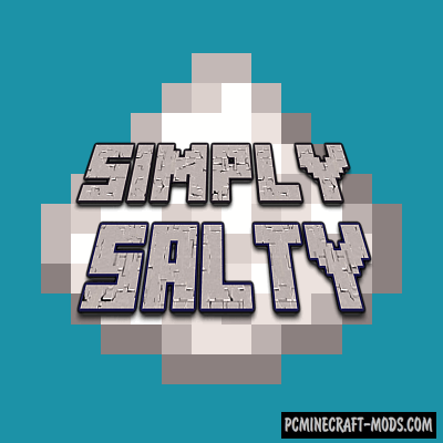 Simply Salty - New Blocks, Ore Mod For Minecraft 1.15.2