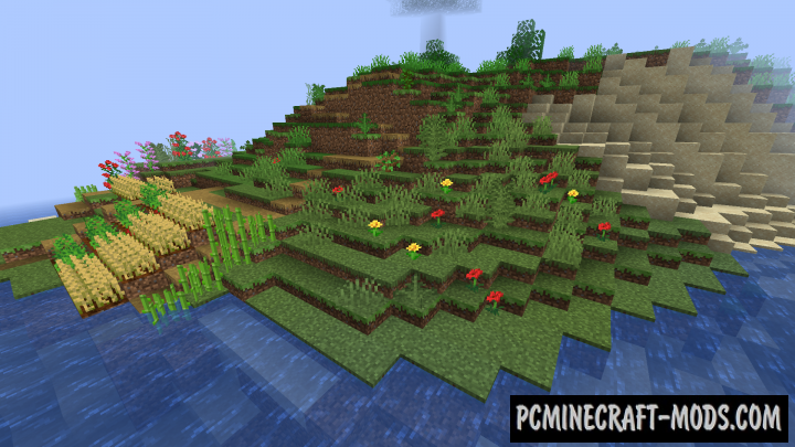 Natural Slabs - New Blocks Mod For Minecraft 1.15.2