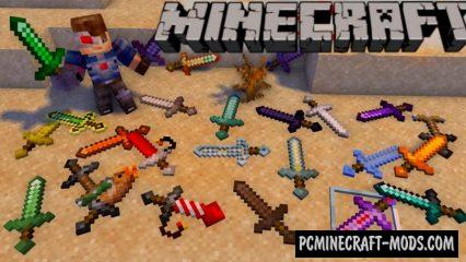 Moar Swords Data Pack For Minecraft 1.16, 1.15.2