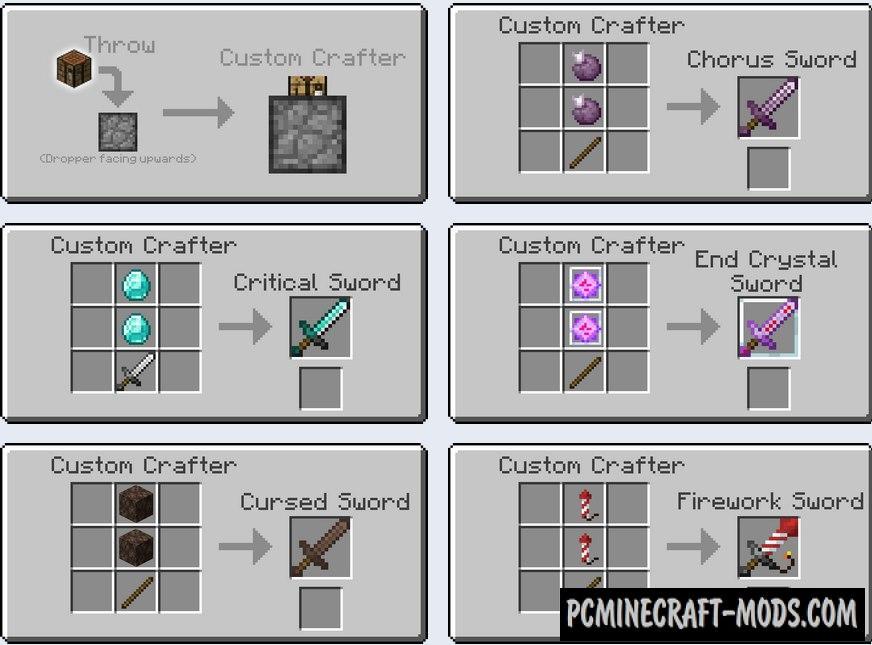 Moar Swords Data Pack For Minecraft 1.16.5, 1.16.4