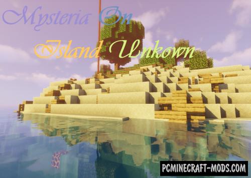 Mysteria on Island Unknown - Adventure Map MC