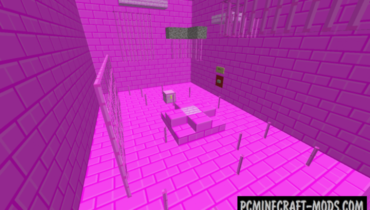 Pink Prison - Escape Map For Minecraft