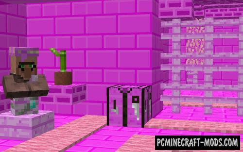 Pink Prison - Escape Map For Minecraft
