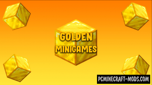 Golden Minigames Map For Minecraft