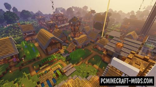 Hardcore Village - Survival Map For Minecraft