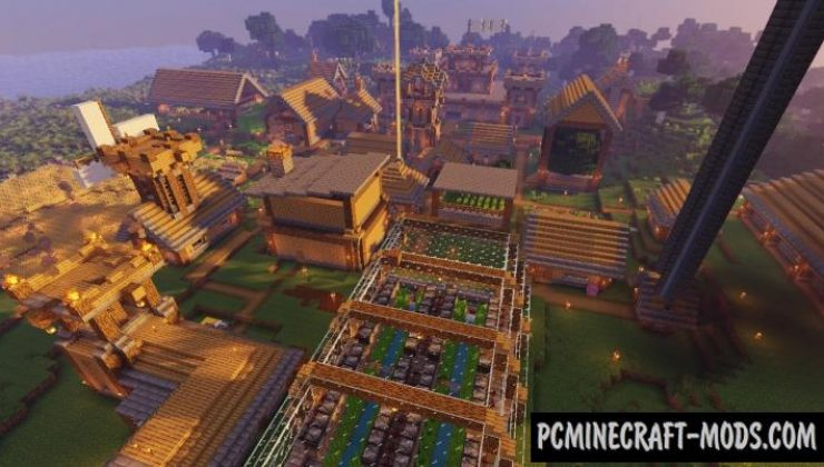 Hardcore Village - Survival Map For Minecraft