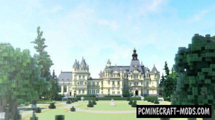 Domaine la Valmirande - Palace Map For MC