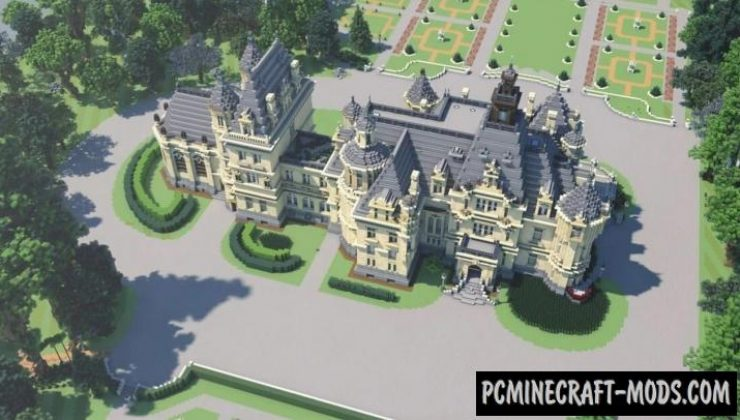 Domaine la Valmirande - Palace Map For MC