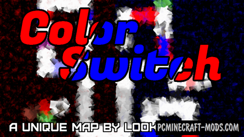 Color Switch - Puzzle Map For Minecraft