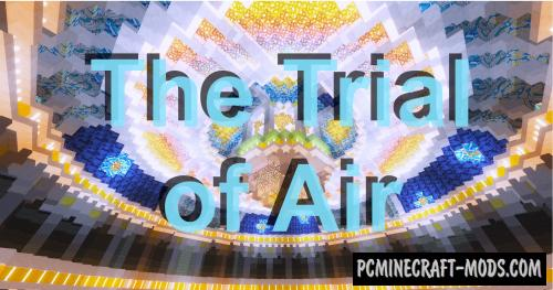 The Trial of Air - Adventure Map For MC