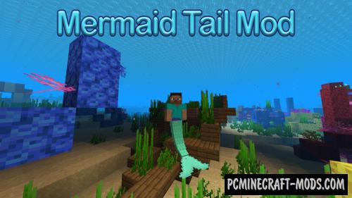 Mermaid Tail - Magic, Armor Mod For Minecraft 1.16.5, 1.16.4