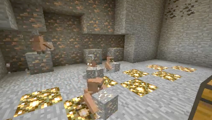 Miner Golems - Farm, Mobs Mod For Minecraft 1.12.2