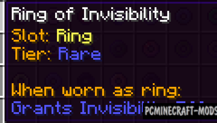 Rings of Ascension - Magic Armor Mod For MC 1.16.3, 1.15.2