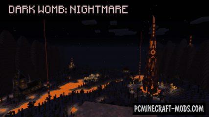 Dark Womb: Nightmare - Horror, Adv Map For MC