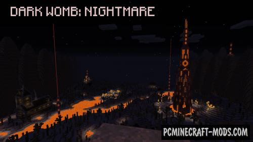 Dark Womb: Nightmare - Horror, Adv Map For MC