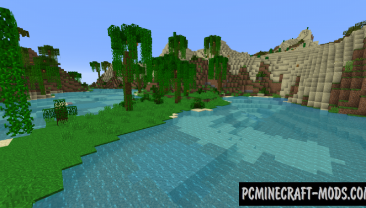 Ecotones - Beautiful Biomes Mod For Minecraft 1.16.5
