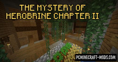 The Mystery of Herobrine Chapter II - Puzzle Map MC