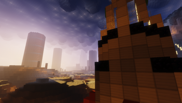 Between Two Planets - Adventure Map For Minecraft