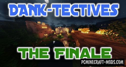 DANK-Tectives: The Finale - Adv Map For Minecraft