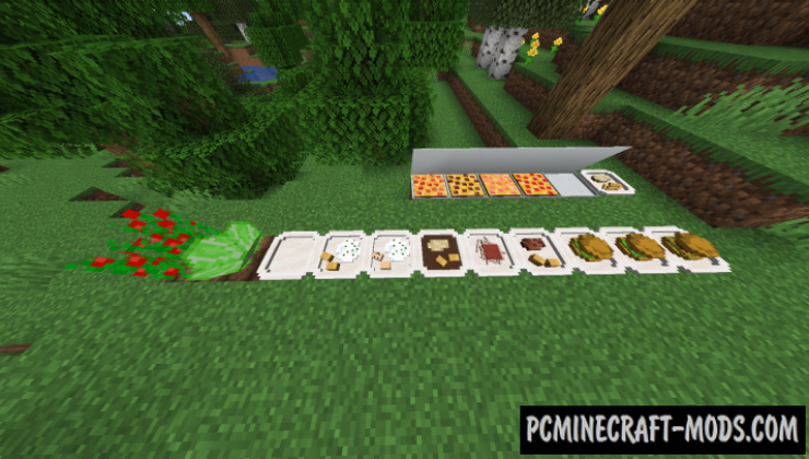 Delicious Dishes - Food Mod For Minecraft 1.16.5, 1.16.4