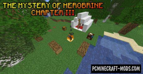 The Mystery of Herobrine Chapter III - Adventure Map