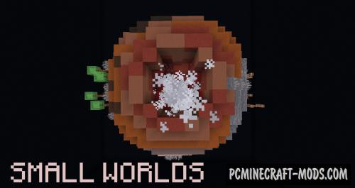 Small Worlds - Adventure Map For Minecraft