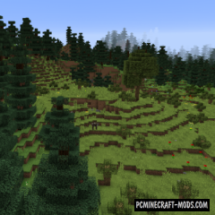 Ecotones - Beautiful Biomes Mod For Minecraft 1.16.1