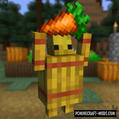 Straw Golem Reborn - Mob Mod For Minecraft 1.16.5, 1.14.4