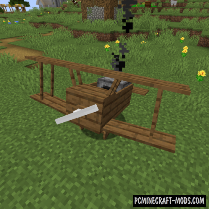 Simple Planes - Vehicles Mod For Minecraft 1.16.5, 1.16.4