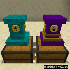 Pedestals - Tech, Decor, Cosmetic Mod For Minecraft 1.16.3