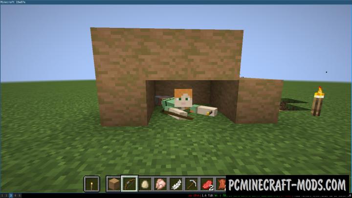 Crawl - Tweak Animation Mod For Minecraft 1.16.4, 1.14.4