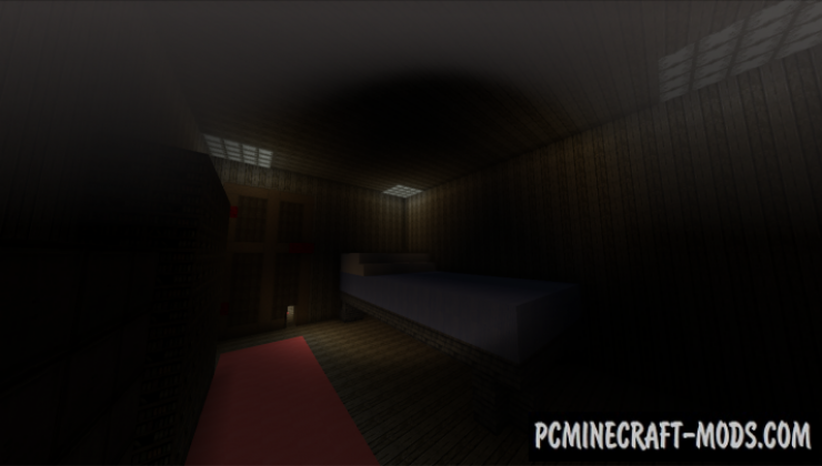 The Shrinking Machine - Horror Map For Minecraft