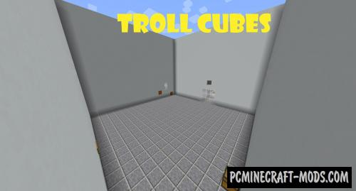 Troll Cubes - Puzzle Map For Minecraft
