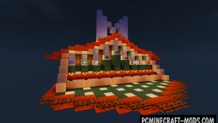 Monument Island 2 - Survival, CTM Map For MC