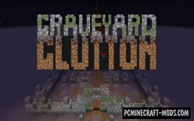 Graveyard Glutton - Minigame Map For Minecraft