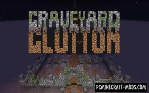 Graveyard Glutton - Minigame Map For Minecraft