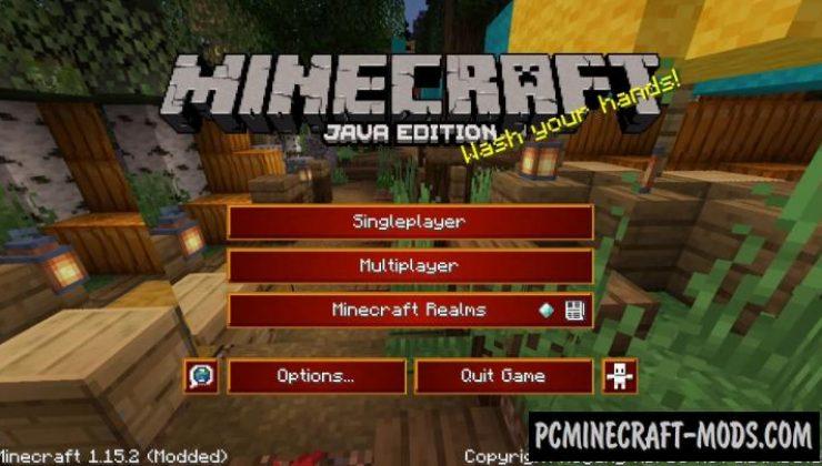 Natizval's Enhanced Default Texture Pack Minecraft 1.16.5, 1.16.4