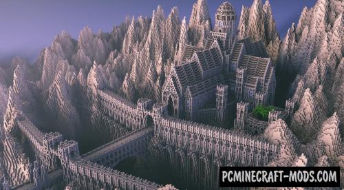 A Hermit's Refuge - Castle Map For Minecraft