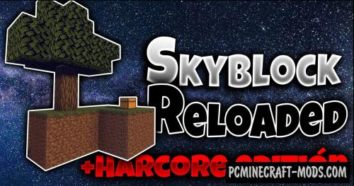 Skyblock Reloaded V2 - Survival Map For Minecraft