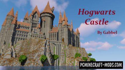 Hogwarts Castle Map For Minecraft