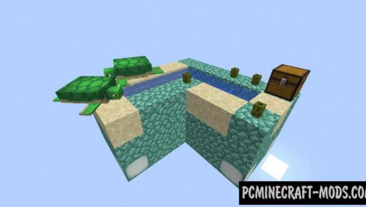 Skyblock Reloaded V2 - Survival Map For Minecraft