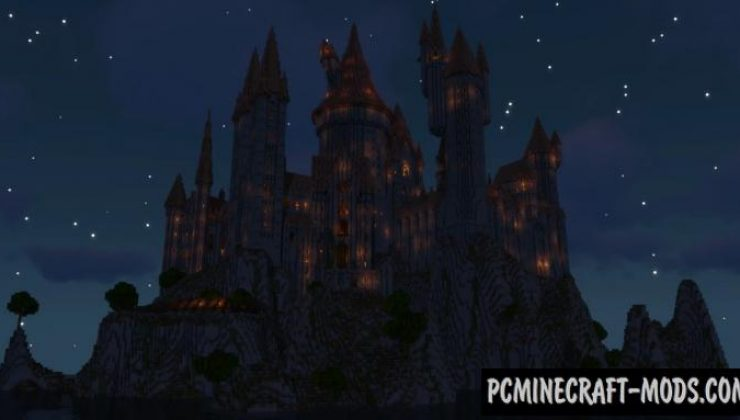 Hogwarts Castle Map For Minecraft