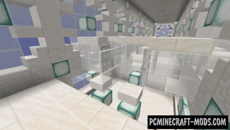 Frustration Floors - Parkour Map For Minecraft