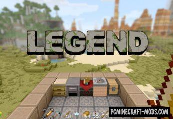 Legend 16x Resource Pack For Minecraft 1.16.2, 1.15.2