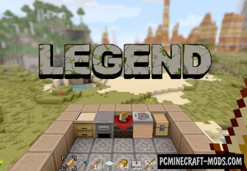 Legend 16x Resource Pack For Minecraft 1.16.5, 1.16.4, 1.15.2