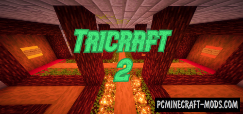 Tricraft 2 - CTM, Mini-Game Map For Minecraft